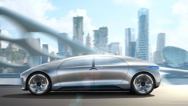 Новый Mercedes-Benz F 015 Luxury in Motion 2015