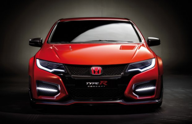 Стильный Honda Civic Type R 2015