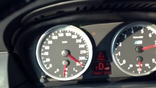 Видео: BMW E60 M5 F1 Top Speed 340 kmh - Black Beast Acceler ...