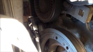 Видео: DIY How to replace install alternator ac drive belt 2 ...