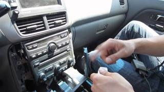 Видео: GTA Car Kits - Honda Pilot 2003-2008 Navi install of  ...
