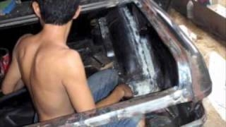 Видео: Tong's Mercedes W123 ULING Restoration Part 1 with vi ...